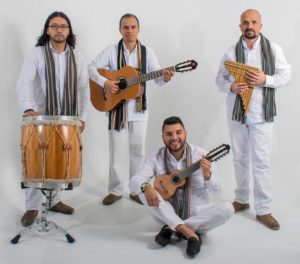 Grupo de música andina en Bogota